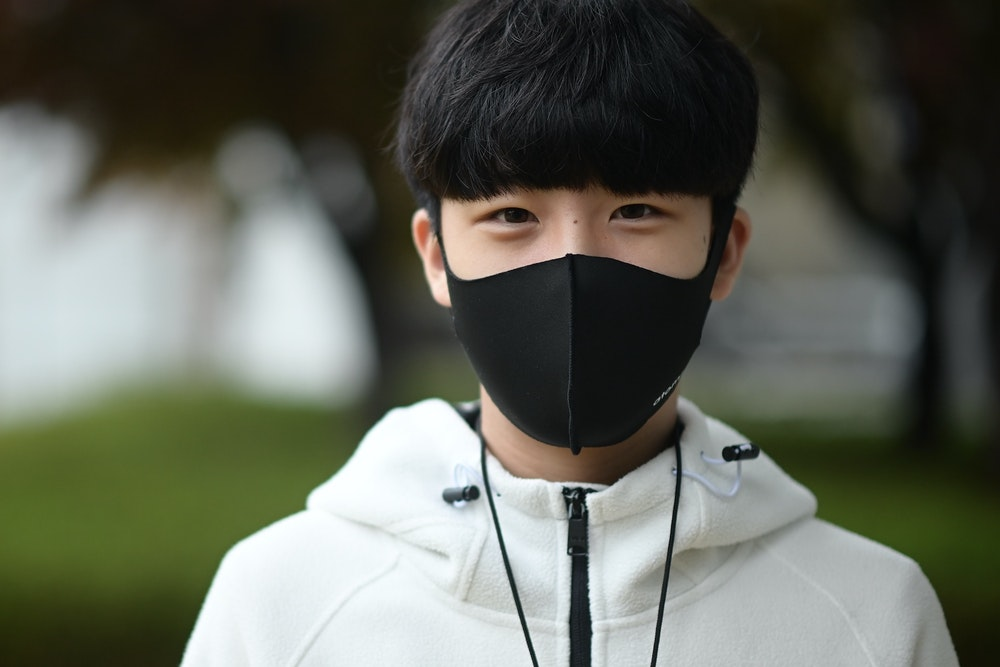Atoms Everyday Mask Black